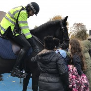 Jasper meet Police horses!